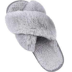 Women's Soft Plush Lightweight House Slippers