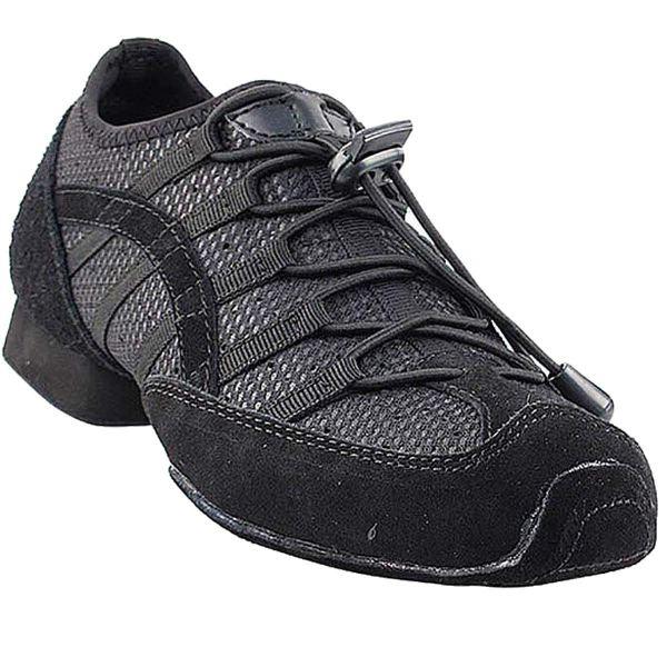 Practice Dance Sneaker Shoes Split Sole Black