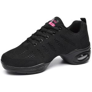 Jazz Shoes Lace-up Dance Sneakers