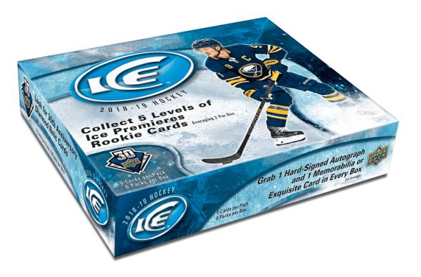 18-19 Upper Deck Ice Hockey Hobby