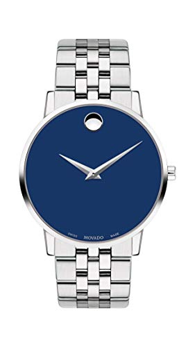 Movado Men's Museum Stainless Steel Watch with a Concave Dot Museum Dial