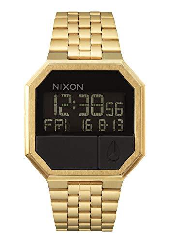 Nixon Re-Run A158502-00. Men's Digital Gold Watch
