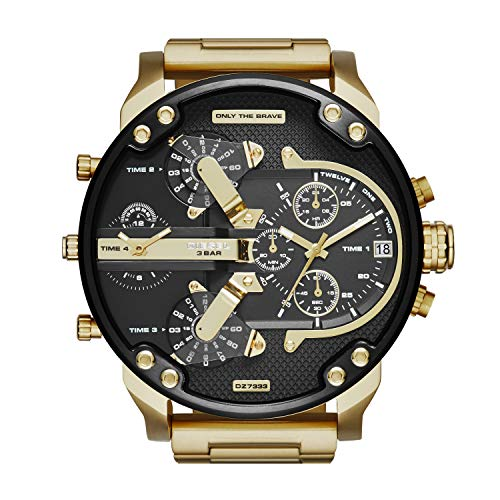 Diesel Men's Quartz Stainless Steel Chronograph Watch
