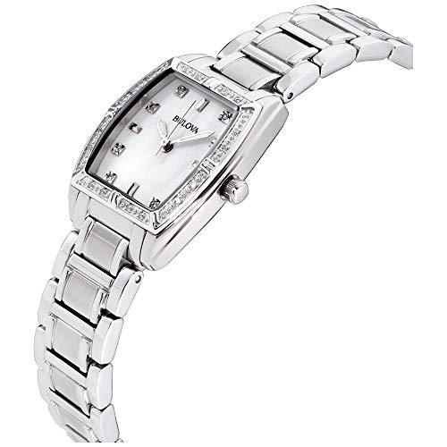 Bulova Women's HIGHBRIDGE Diamond Bezel Watch Bulova Women's 96R162 HIGHBRIDGE Diamond Bezel Watch