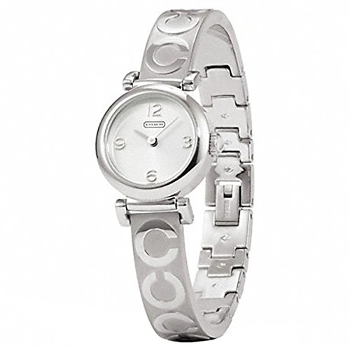Coach Madison Stainless Steel Signature Bangle Watch