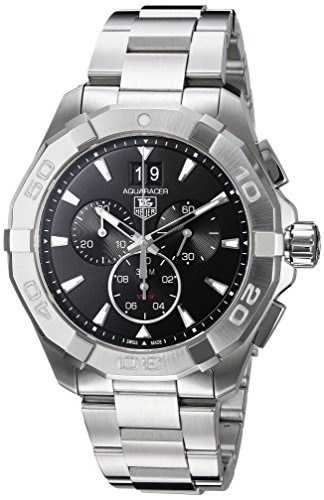 Tag Heuer Aquaracer 300M Chronograph 43mm Black Men's Watch