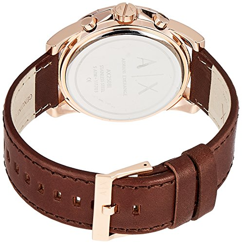 Armani Exchange Men's AX2508 Brown  Leather Watch Armani Exchange Men's AX2508 Brown Leather Watch