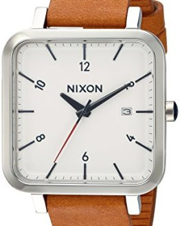 Nixon Men's 'Ragnar 36' Quartz Stainless Steel and Leather Watch