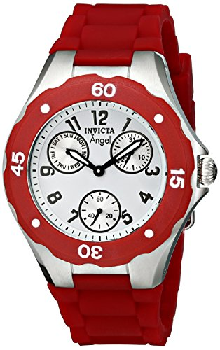Invicta Women's Angel Collection Cranberry Multi-Function Watchh