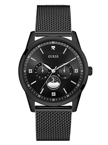 GUESS Men's Stainless Steel Mesh Dress Watch