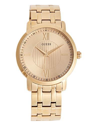 GUESS Factory Men's Gold-Tone Analog Watch