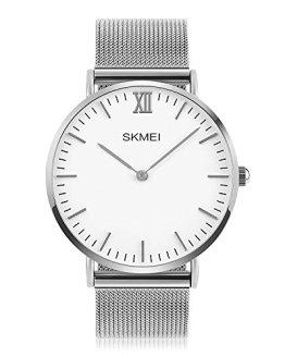 Mens Quartz Watch, Aposon Business Analog Wrist Watch Luxury Stainless