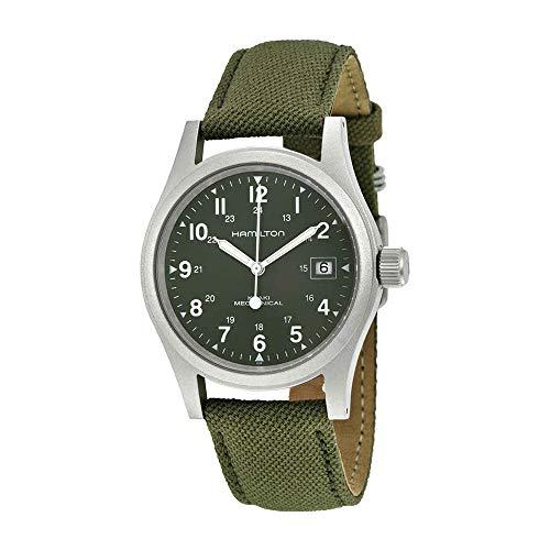 Hamilton Men's Khaki Field Green Watch