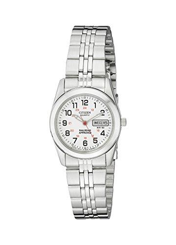 Citizen Women's Quartz Stainless Steel Watch with Day/Date