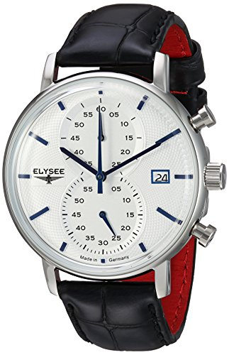 ELYSEE Men's Classic-Edition Stainless Steel Quartz Watch