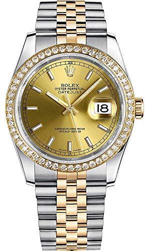 Rolex Datejust 36 Champagne Dial Women's Watch