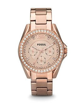 Fossil Women's Riley Quartz Stainless Steel Dress Watch