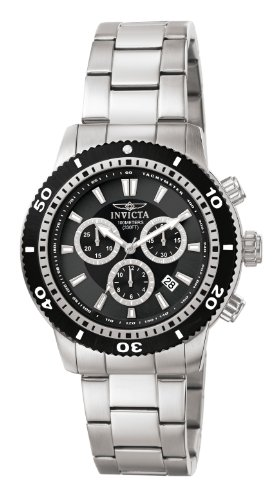 Invicta Men's Collection Chronograph Stainless Steel Watch