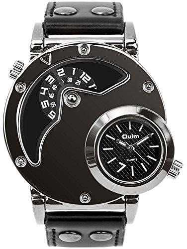 Men's Unique Analog Watch, Aposon Fashion Dress Quartz Wrist Watch