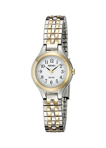 Seiko Women's Solar Expansion Two-Tone Stainless Steel Classic Watch