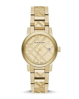 Burberry The City Gold-Tone Ladies Watch