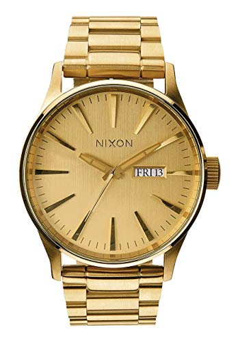 Nixon Sentry SS A356502-00. All Gold Men's Watch