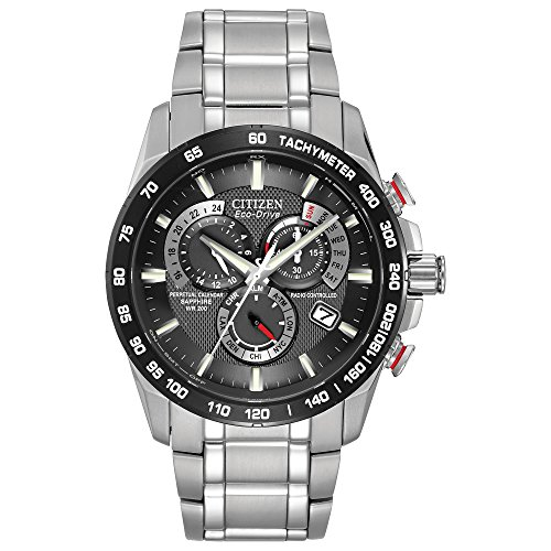 Citizen Men's Eco-Drive Perpetual Chrono Atomic Timekeeping Watch