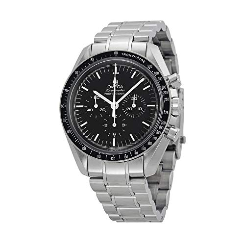 Omega Men's Speedmaster Analog Display Mechanical Hand Wind Silver