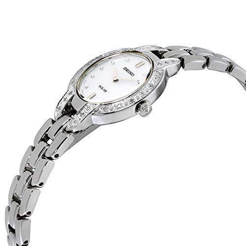 Seiko Women's TRESSIA Japanese-Quartz Watch with Stainless-Steel Strap