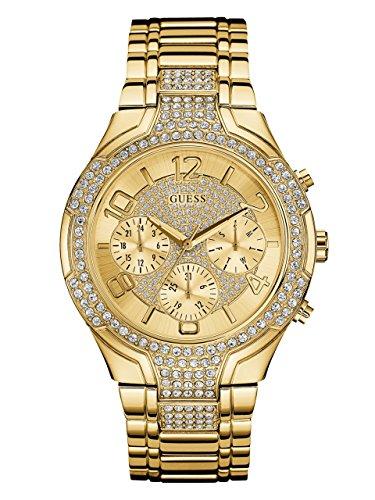 GUESS Women's Quartz Stainless Steel Casual Watch