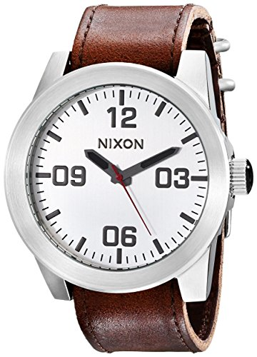 NIXON Men's Corporal Series Analog Quartz Watch / Leather or Canvas Band