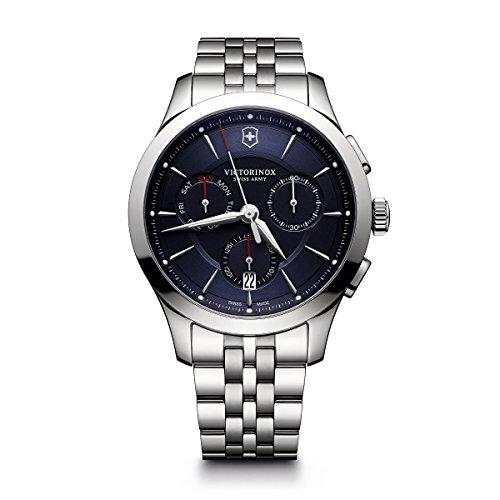 Victorinox Men's 'Alliance' Swiss Quartz Stainless Steel Casual Watch