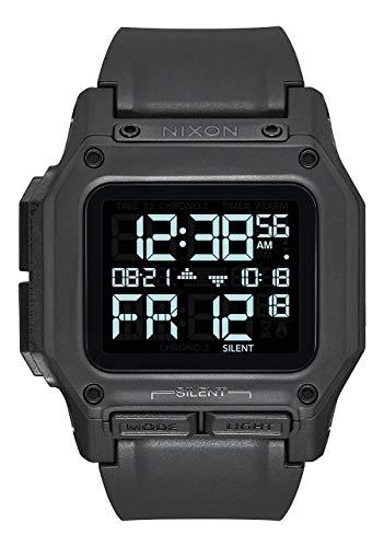 Nixon Regulus All Black Men's Water and Shock Resistant Digital Watch