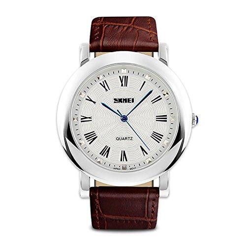 Men's Analog Quartz Watch Waterproof Business Casual Wrist Watch Dress Design