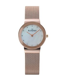Skagen Women's Ancher Quartz Stainless Steel Dress Watch