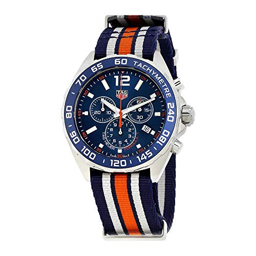 Tag Heuer Formula 1 Blue Chronograph Mens Watch