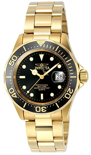 Invicta Men's Mako Swiss Pro Diver Quartz Gold Stainless Steel Watch