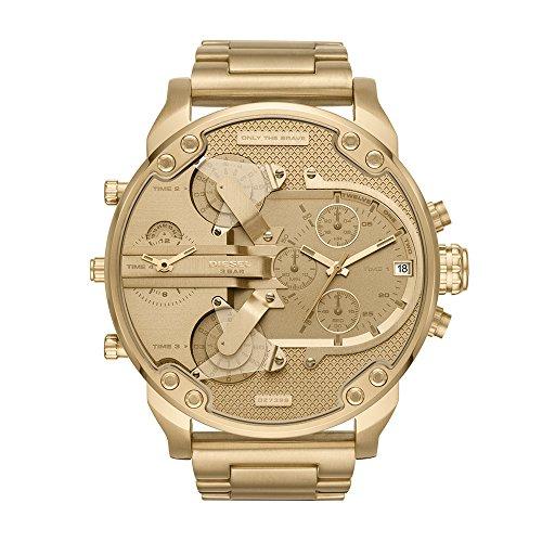 Diesel Men's Mr Daddy 2.0 Quartz Stainless Steel Chronograph Watch