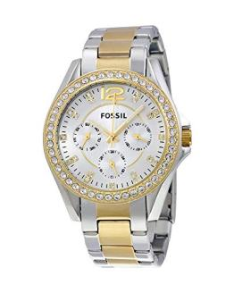 Fossil Women's Riley Quartz Two-Tone Stainless Steel Dress Watch