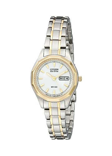 Citizen Women's Eco-Drive Sport Two-Tone Watch with Date
