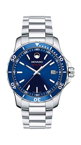 Movado Men's Series 800 Sport Stainless Watch with a Printed Index Dial