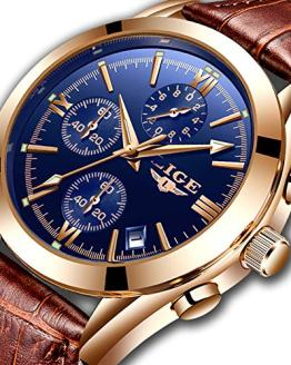 Watch for Man,LIGE Men's Watches Fashion