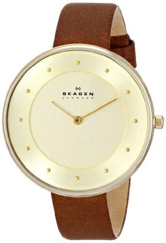Skagen Women's Gitte Saddle Leather Watch