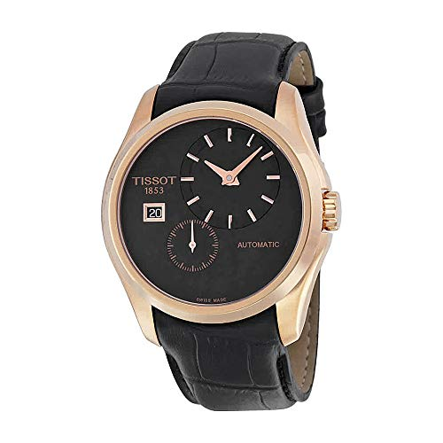 Tissot Men's Analog Display Automatic Self Wind Black Watch