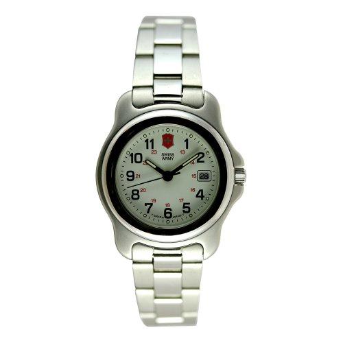 Victorinox Swiss Army Women's Officers Silver-Tone Watch