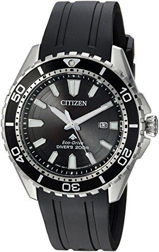 Citizen Men's Eco-Drive Stainless Steel Japanese-Quartz Diving Watch