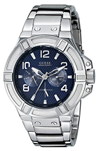 GUESS Men's Rigor Standout Sporty Multi-Function Watch