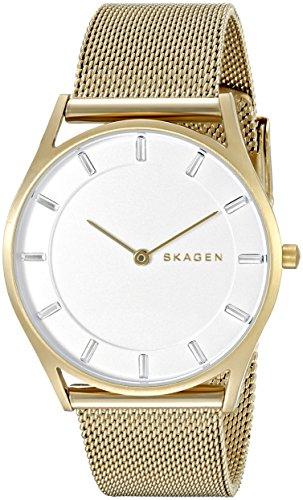 Skagen Women's SKW2377 Holst Gold Mesh Watch