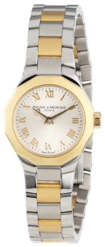 Baume & Mercier Women's Riviera XS Two-Tone Gold Dial Watch