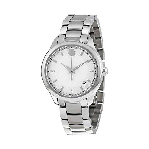 Movado Bellina Mother of Pearl Dial Stainless Steel Ladies Watch